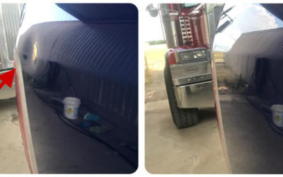 Dodge Ram 2500 Dent Repair in McKinney, Texas