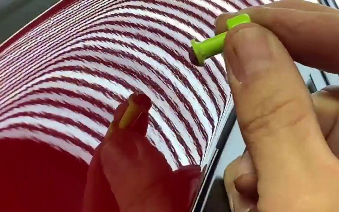 Time Lapse Dent Repair Glue Pull Method in Melissa Texas